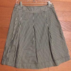 Merona Blue and white striped skirt